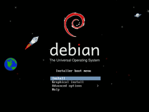 debian сервер